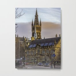 University Avenue Glasgow Metal Print