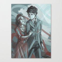 Will & Tessa Canvas Print