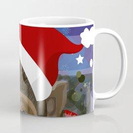 Christmas monkey Coffee Mug