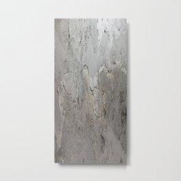 Textured Wall rustic decor Metal Print