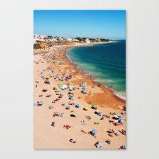 Albufeira beach Canvas Print