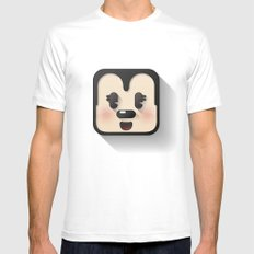 minnie mouse cutie MEDIUM Mens Fitted Tee White