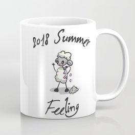Little Sweaty Sheep - in Extreme Heat Coffee Mug