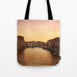 Sunset on the Grand Canal Tote Bag