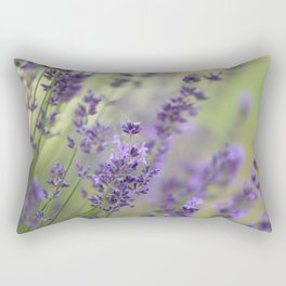 Dream Garden Lavender Rectangular Pillow