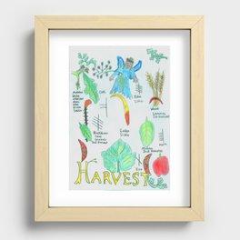 Harvest Energy Recessed Framed Print