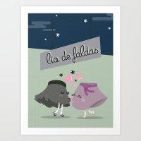 Lio de Faldas Art Print