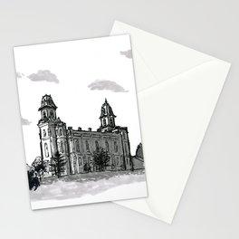 Manti Utah Temple Stationery Cards