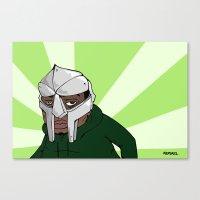 doom Canvas Prints featuring Doom by AlexBortz