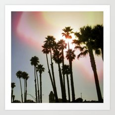 Palms Remix Art Print