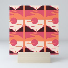 Pencil Scapes 10 Pattern Mini Art Print