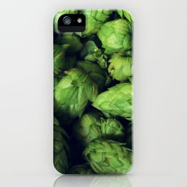 Hops by the bushel. iPhone Case