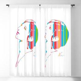 Barbra Streisand | Pop Art Blackout Curtain