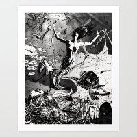 Aqueous by John Webb Art Print