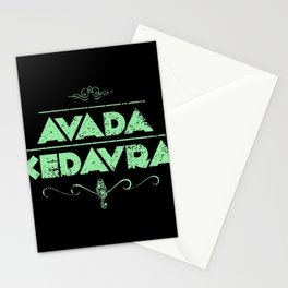 Avada Kedavra Stationery Cards