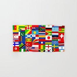 Flag Montage Hand & Bath Towel