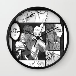 Mystic Messenger - Yoosung Bad Ending Wall Clock