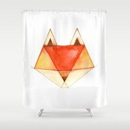 Geo Series - Fox Shower Curtain