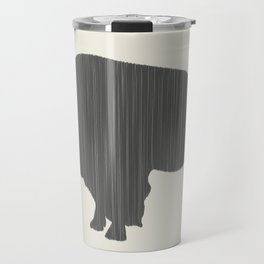 Buffalo Silhouette Travel Mug