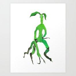 Bowtruckle Art Print