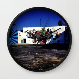 Culver City Graffiti Wall Clock
