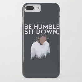 Kendrick- Be Humble,Sit Down iPhone Case