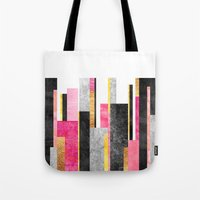 skyline Tote Bags featuring Skyline by Elisabeth Fredriksson