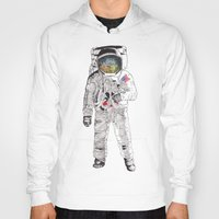 astronaut Hoodies featuring Astronaut by James White