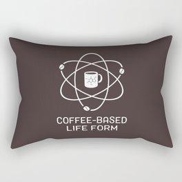 Coffee-based Life Form Rectangular Pillow