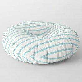 DHURBAN STRIPE AQUA Floor Pillow