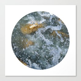 Planetary Bodies - Splash Canvas Print