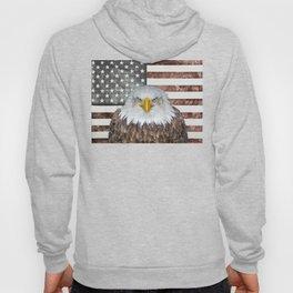 American Bald Eagle Patriot Hoody