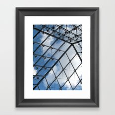 Through The Pyramid Framed Art Print