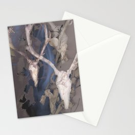 Deer Heads Stationery Cards
