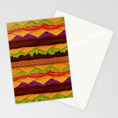 Infinite Burger Stationery Cards