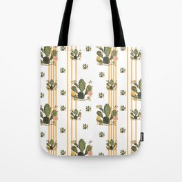 Cactus Stripe Tote Bag