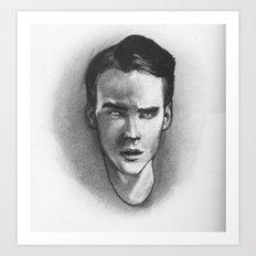 Clever Boy Art Print