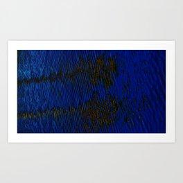 Shimmer. Art Print