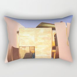 Modern Architecture. oil painting Rectangular Pillow