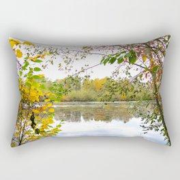 Fall Foliage - horizontal Rectangular Pillow