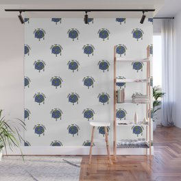 Save The Planet Concept Pattern Wall Mural