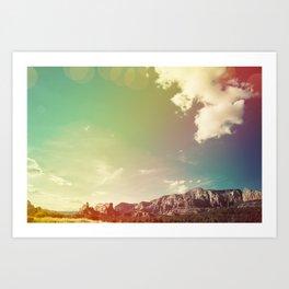 Sedona Landscape Art Print