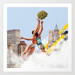 Basket Nugs Art Print