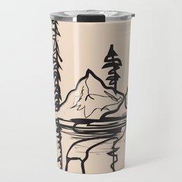 Abstract Landscpe II Travel Mug