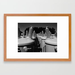 transformers (not in disguise) Framed Art Print