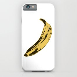 Banana Pop Art for Prints, Posters, Tshirts, Wall Art, Men, Women, Youth iPhone Case