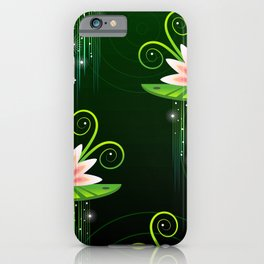 Blooming Lotus iPhone Case