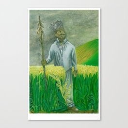 Guard Canvas Print