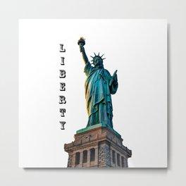 Liberty Light Metal Print