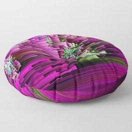 Glitchtastic - Abstract Pixel Art Floor Pillow